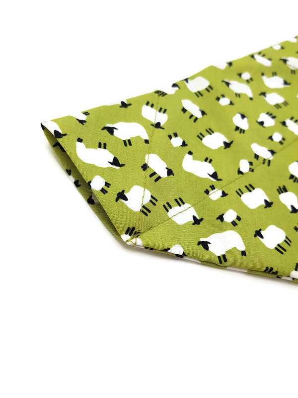bandana with sheep pattern for dogs